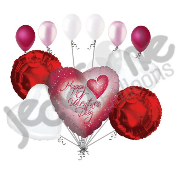 11-pc-Confetti-Hearts-Valentines-Day-Balloon-Bouquet-Be-Mine-Love-You-Hug-Kiss-0