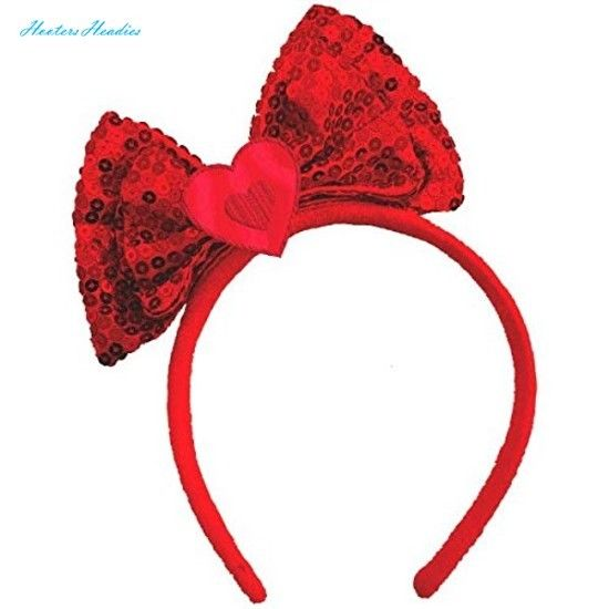 Amscan-Valentines-Day-Bow-Headband-Party-Head-Wear-Accessory-Favor-1-Piece-Re-0