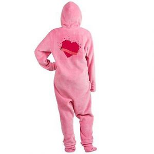 Royal Lion Adult Footed Pajamas Happy Valentines Day Hearts – Pink 29d4bc8c9