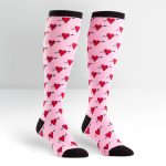 Hearts-Women's-Knee-High-Socks
