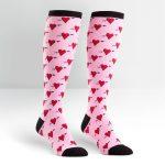 Hearts-Women's-Knee-High-Socks